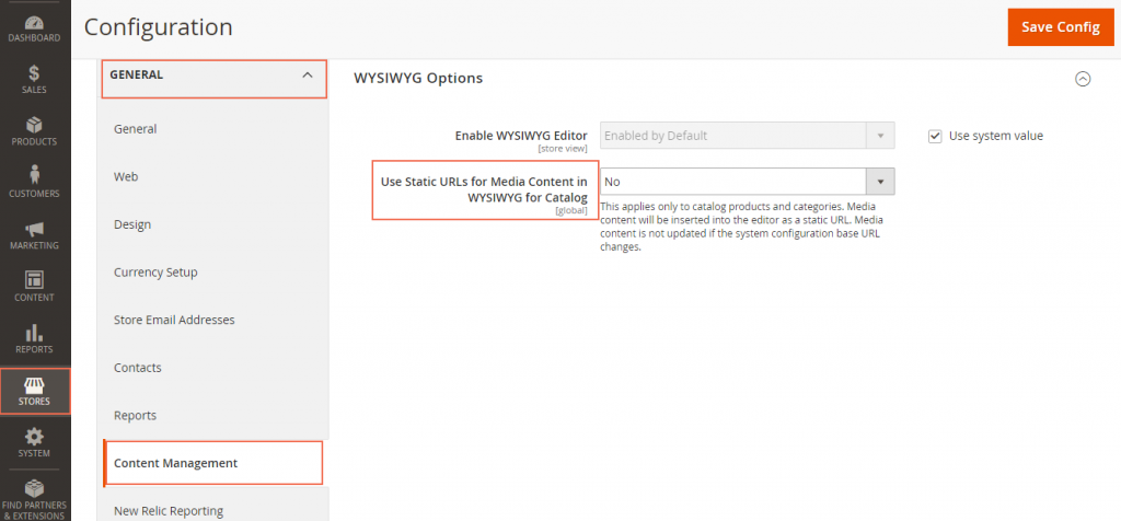 Static Media URLs