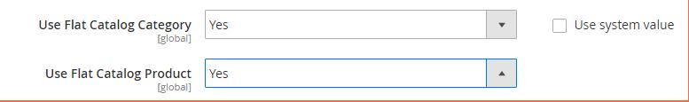 Flat-Catalog-Configuration