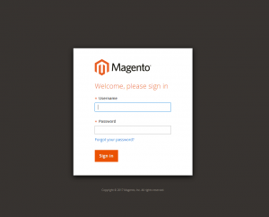 magento 2 sign in
